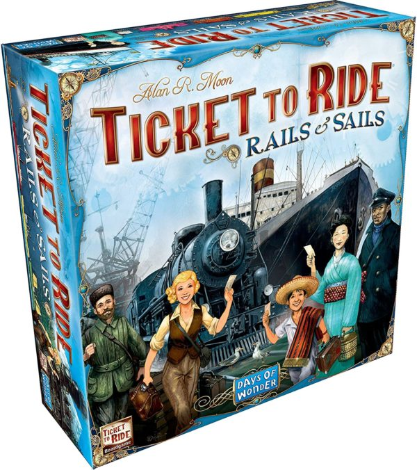 Fantastic Games —Ticket to Ride: Rails and Sails