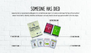 Someone Has Died: A Party Game To Stir The Imagination