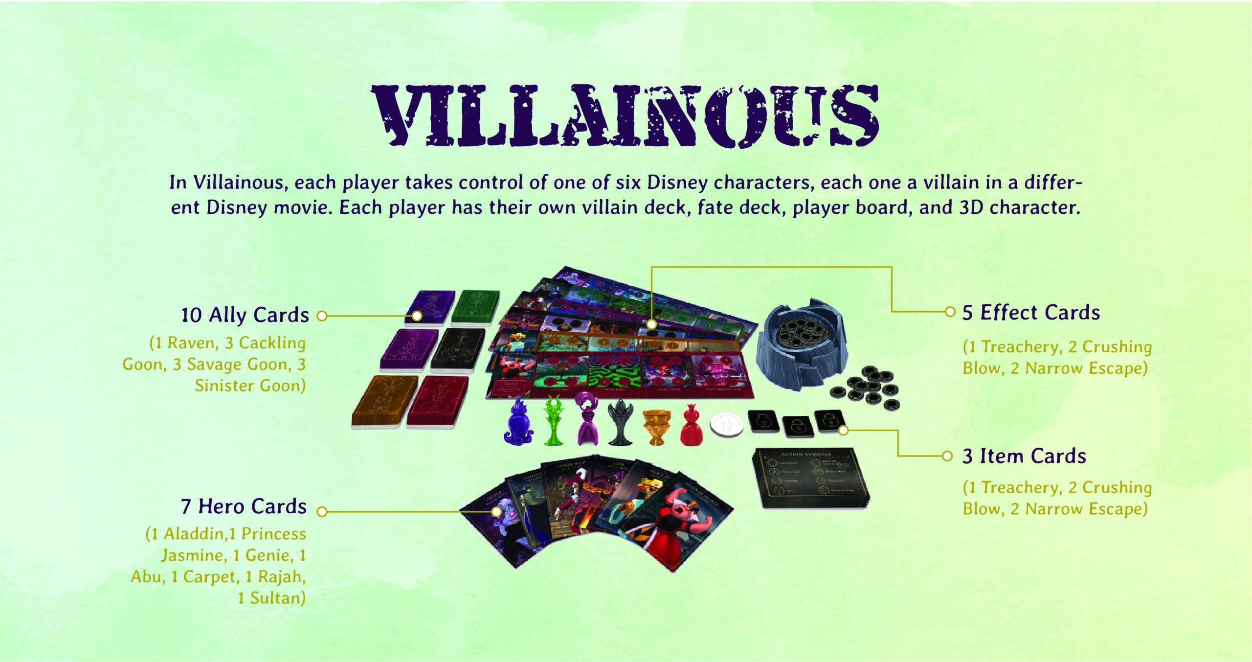 The Love of Games —Villainous