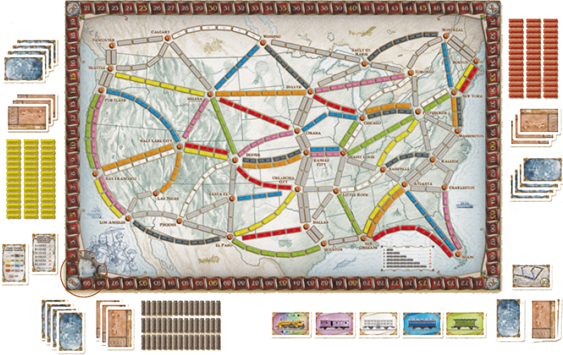 Fantastic Games — Ticket to Ride