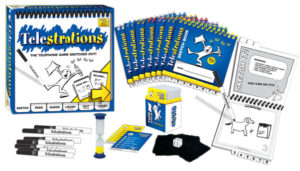 Break Out the Pen And Race Against the Clock With Telestrations