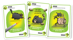 Exploding Kittens: No Cats Were Injured in the Playing of This Game