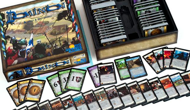 Dominion is the Deck-Building Game of Kings