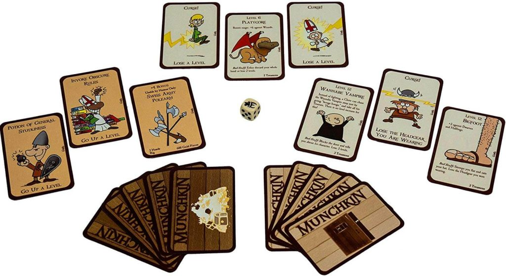 Munchkin: The Card Game For Monster-Killers And Backstabbers