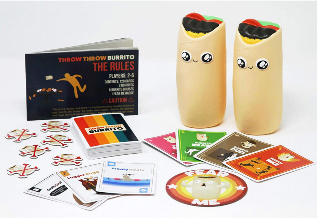 Throw Throw Burrito: A Card Game With A Delicious Twist