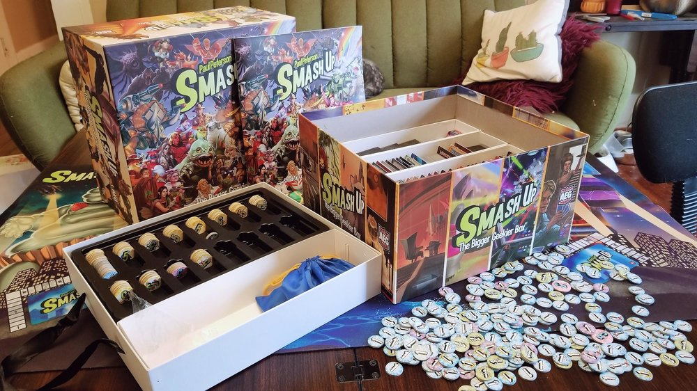 Wreak Havoc And Rack Up Points With Smash Up