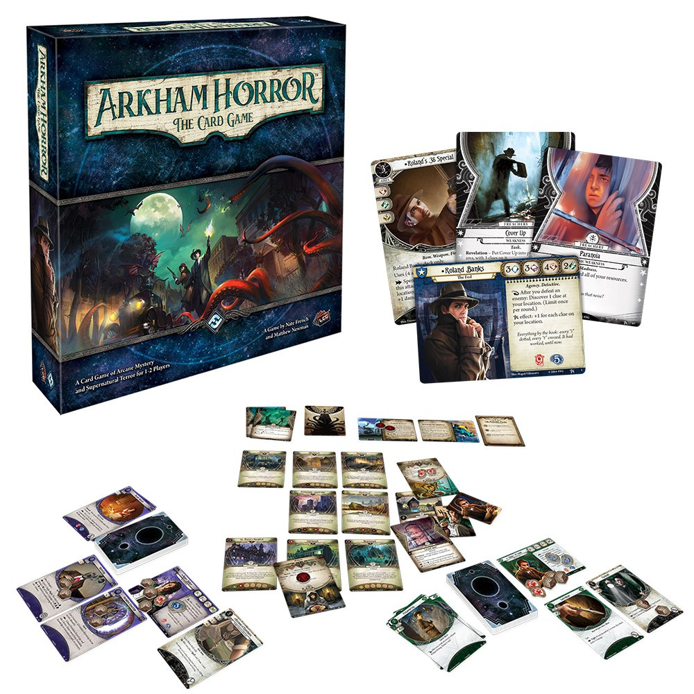 Get Lost In the Mystery with Arkham Horror