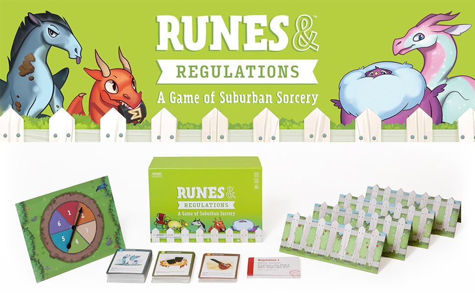 Fantastic Games —Runes & Regulations